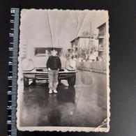 Original Photo. Boy With Vintage Car CITROEN - Cars