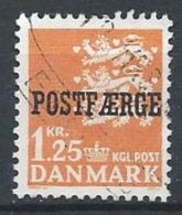 Danemark 1965 N° 442 Oblitéré Surchargé Postfaerge - Used Stamps