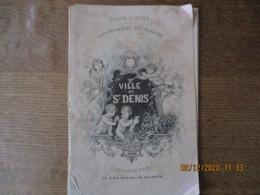 GRANDS MAGASINS DE LA VILLE DE St-DENIS SAISON D'HIVER OUVERTURE DE CINQ NOUVELLES GALERIES CATALOGUE 28 PAGES - Advertising