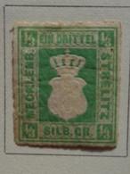 MECKLEMBOURG-STRELITZ 1864 - MICH. N° 2 A * - Mecklenburg-Strelitz