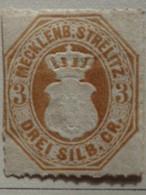 MECKLEMBOURG-STRELITZ 1864 - MICH. N° 6 * - Mecklenburg-Strelitz