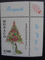 MONACO 2004 Y&T N° 2433 ** - 37e CONCOURS INTERN. DE BOUQUETS - Nuovi