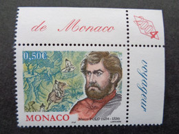 MONACO 2004 Y&T N° 2451 ** - 750e ANNIV. DE LA NAISSANCE DE MARCO POLO - Nuovi