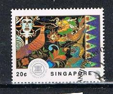 SINGAPORE DE008 - 992 20c ASEAN I Used - Singapore (1959-...)