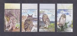 Belarus 2008 Birds Owls MNH** - Gufi E Civette