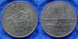FRANCE - 10 Francs 1980 KM# 940 Fifth Republic - Edelweiss Coins - Non Classificati