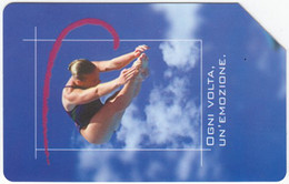 ITALY G-550 Magnetic SIP - Sport, Water Diving Exp. 30.06.04 - Used - Públicas Figuración Ordinaria