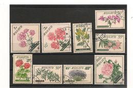 MONACO ANNÉE 1959 N° Y/T : 514/522 Oblitérés Côte: 19,25€ - Gebruikt