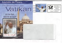 D+ Deutschland 2004 Mi Xx Johannes Paul II. BA - Cartas