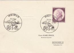Deutsches Reich Postkarte 1942 Tag Der Briefmarke - Covers & Documents