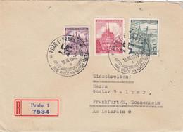 Deutsches Reich Bohmen Und Mahren R Brief 1940 - Occupation 1938-45