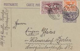 Deutsches Reich Haute Silesie Postkarte 1922 - Cartas