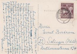 Deutsches Reich Postkarte 1945 - Cartas