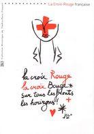 """"""" CROIX-ROUGE / J.C. DE CASTELBAJAC """" Sur Document Philatélique Officiel De 4 Pages De 2016. N°YT F5106 Parfait état DPO - 2010-...."""