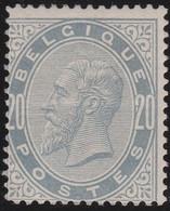 Belgie  .  OBP  .   39   (2 Scans)   .   **   .   Postfris  .  / .  Neuf Avec Gomme Et SANS Charnière - 1883 Léopold II