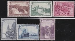 Belgie  .  OBP  .   293/298     .   **   .   Postfris  .  / .  Neuf Avec Gomme Et SANS Charnière - Nuevos