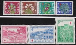 Belgie  .  OBP  .   834/840     .   **   .   Postfris  .  / .  Neuf Avec Gomme Et SANS Charnière - Ongebruikt