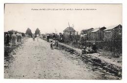 ESSONNE / GIF-sur-YVETTE / PLATEAU DE BELLEVILLE , Par GIF / AVENUE DU BELVEDÈRE  ( Lotissements, Belle Animation ) - Gif Sur Yvette