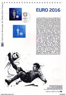 """"""" EURO 2016 """" Sur Document Philatélique Officiel De 2016. N° YT 5039. Parfait état. DPO - Postdokumente"""