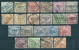 "TR 58/78 Gestempeld ""complete Reeks Met Kwaliteitszegels"" - Cote 66,00 - 1915-1921"