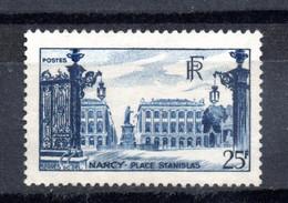 1948--tp Place Stanislas à Nancy --n° 822  --SANS  GOMME......cote  7.65 € ................à Saisir - Neufs
