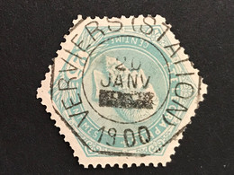 TG12 - Gestempeld VERVIERS STATION - Telegrafo