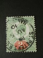 GRANDE BRETAGNE - 1902 - Y&T N°109 - OBLITERE - Gebraucht