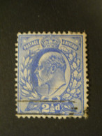 GRANDE BRETAGNE - 1902 - Y&T N°110 - OBLITERE - Gebraucht