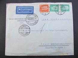 BRIEF Chemnitz - Graz 1932 Luftpost Flugpost   //   D*47230 - Storia Postale