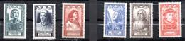 1946--Personnages Célèbres --série N° 765 à 770 ( 6 Valeurs) - Gomme Intacte..cote  12 € .à Saisir - Neufs