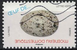 France 2020 Oblitéré Used Oeufs D'Oiseaux Moineau Domestique Y&T 1848 - 2010-.. Matasellados