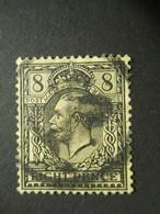 GRANDE BRETAGNE - 1909 - Y&T N°149 - 8p - OBLITERE - - Gebraucht