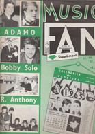 MUSIC FAN NUMERO 3 JANVIER 1965 - Musica