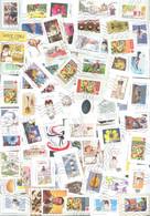 France Oblitérés : Lot De Plus De 900 Timbres, 2018, 2019 Et 2020 (lignes Ondulées; Quelques Cachets Ronds). - Used Stamps