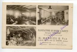 Bergerac Manufacture De Brides à Sabots - Bergerac
