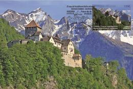 Spanish Andorra 2020 - Joint Issue Andorra-Liechtenstein Maximum Card - Ongebruikt