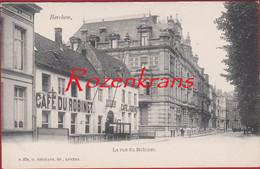 Antwerpen Berchem La Rue Du Robinet (Prins Albertlei) Café Restaurant Edit. G. Hermans (In Zeer Goede Staat) - Antwerpen