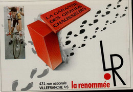 BALLY CHAUSSE...A LA RENOMEE A VILLEFRANCHE S/S/.....CPM - Humor