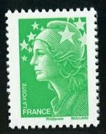 N° 4229  Marianne De Beaujard , Faciale Lettre Verte - Nuovi