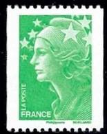 N° 4239  Marianne De Beaujard , Valeur Faciale Lettre Verte Roulette - Nuovi
