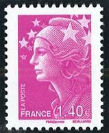 N° 4477 Marianne De Beaujard 2010  Faciale 1,40 € - Nuovi