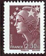 N° 4478 Marianne De Beaujard 2010  Faciale 2,30 € - Nuovi