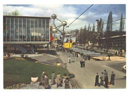 BRUSSEL - EXPO '58 -  BENELUXLAAN EN HET PAVILJOEN VAN LUXEMBURG  (2299) - Wereldtentoonstellingen