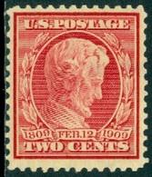 UNITED STATES OF AMERICA 1909 2c LINCOLN** (MNH) - Nuevos
