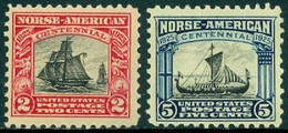 UNITED STATES OF AMERICA 1925 NORSE AMERICAN** (MNH) - Nuevos
