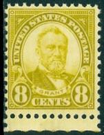 UNITED STATES OF AMERICA 1927 8c GRANT** (MNH) - Nuevos