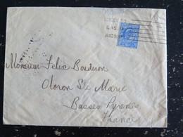LETTRE GRANDE BRETAGNE GREAT BRITAIN AVEC YT 110 EDOUARD VII - LONDON E.C. 23 JUIN 1908 - Briefe U. Dokumente