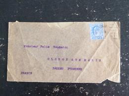 LETTRE GRANDE BRETAGNE GREAT BRITAIN AVEC YT 110 EDOUARD VII - Briefe U. Dokumente