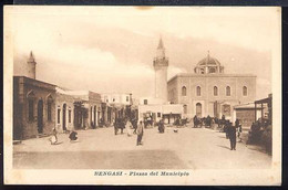 AF609 BENGASI - PIAZZA DEL MUNICIPIO - Libya