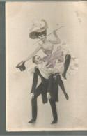 CO / Vintage /  Old Postcard /  CPA Danse Mode Cabaret Girl Sexy M.M VIENNE / M.MUNK // Voyagée Inscrite - Fashion